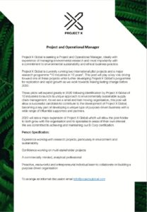 Project and Operational Manager pdf